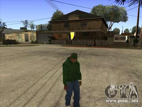 Cleo Walk Style para GTA San Andreas segunda pantalla