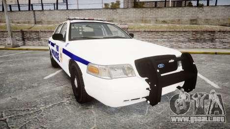 Ford Crown Victoria F.B.I. Police [ELS] para GTA 4