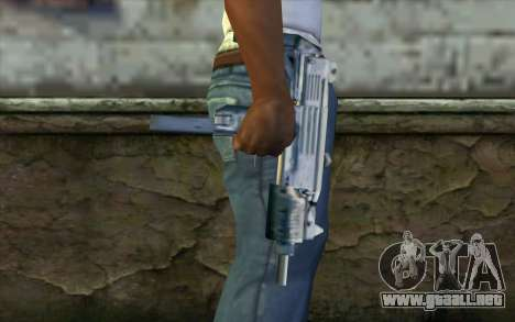 Uzi from Beta Version para GTA San Andreas tercera pantalla