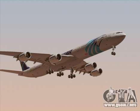 Airbus A340-600 EgyptAir para GTA San Andreas left