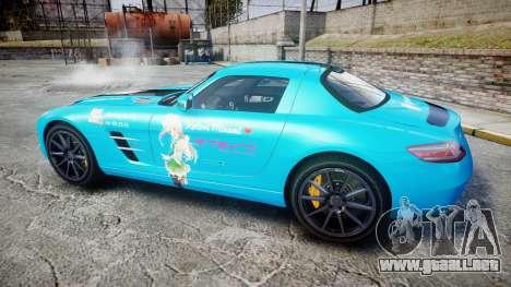 Mercedes-Benz SLS AMG v3.0 [EPM] Kotori Minami para GTA 4 left