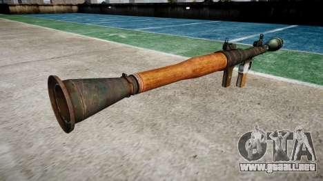 Portátil antitanque lanzagranadas (RPG) para GTA 4 segundos de pantalla
