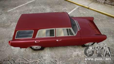 FSO Warszawa Ghia Kombi 1959 para GTA 4 visión correcta
