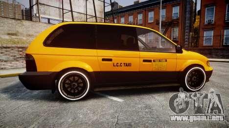 Schyster Cabby Taxi para GTA 4 left