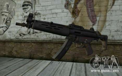 MP5 from FarCry 3 para GTA San Andreas