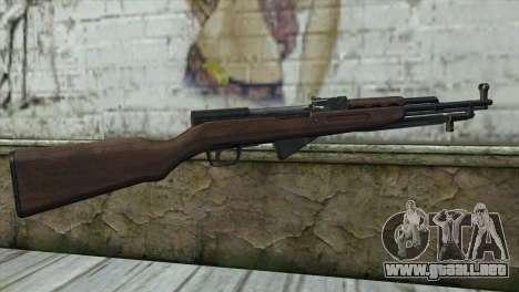 СКС de la Insurgencia para GTA San Andreas segunda pantalla