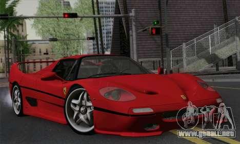 Ferrari F50 1995 Autovista para GTA San Andreas