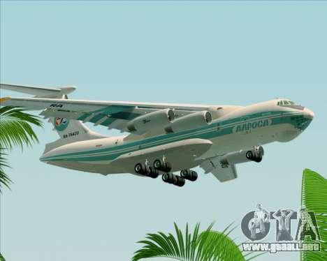IL-76TD ALROSA para la visión correcta GTA San Andreas