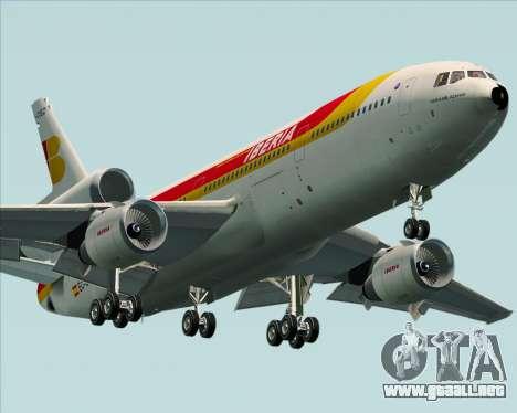 McDonnell Douglas DC-10-30 Iberia para GTA San Andreas left