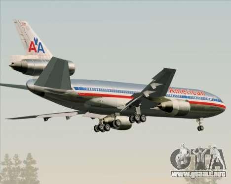 McDonnell Douglas DC-10-30 American Airlines para la visión correcta GTA San Andreas