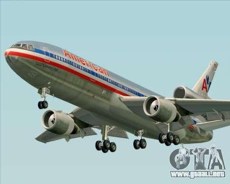McDonnell Douglas DC-10-30 American Airlines para GTA San Andreas left