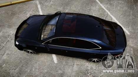 Lexus IS 350 F-Sport 2014 Rims2 para GTA 4 visión correcta