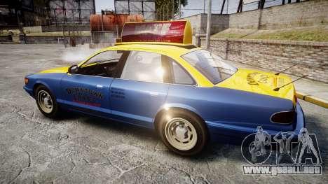Vapid Stanier Taxi DCC para GTA 4 left