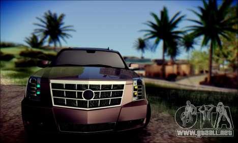 Cadillac Escalade Ninja para GTA San Andreas left