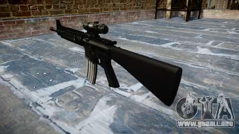 Rifle de M16A4 ACOG destino para GTA 4 segundos de pantalla