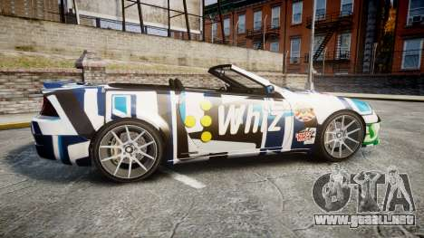 Benefactor Feltzer Grey Series v2 para GTA 4 left