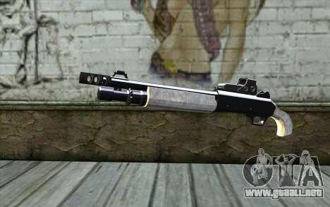 Silver Shotgun para GTA San Andreas