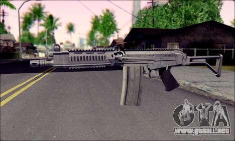 FN FAL from ArmA 2 para GTA San Andreas segunda pantalla