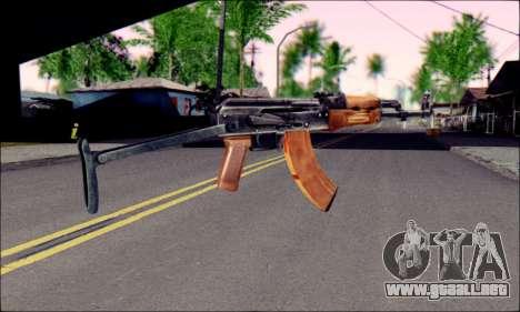 ACMs de ArmA 2 para GTA San Andreas segunda pantalla