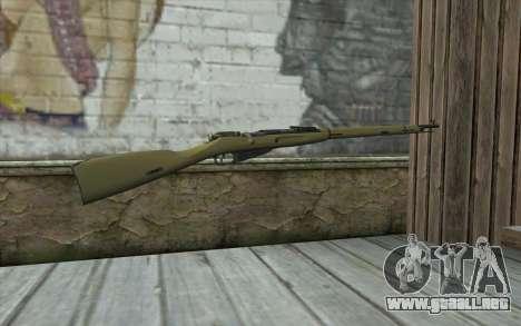 Mosin-v3 para GTA San Andreas segunda pantalla