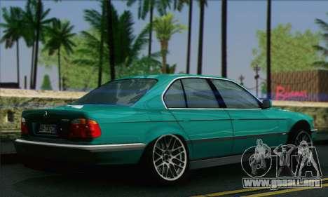 BMW 7-series para GTA San Andreas left