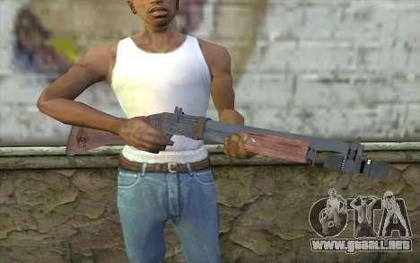 Shotgun from Primal Carnage v2 para GTA San Andreas tercera pantalla
