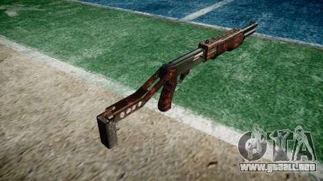 Ружье Franchi SPAS-12 Arte de la Guerra para GTA 4 segundos de pantalla