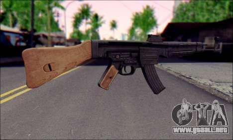 De la máquina (Muerte a los Espías 3) para GTA San Andreas segunda pantalla