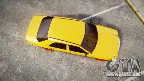 Mercedes-Benz W124 Brabus para GTA 4 visión correcta