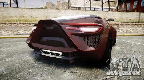 Bertone Mantide 2009 para GTA 4 Vista posterior izquierda