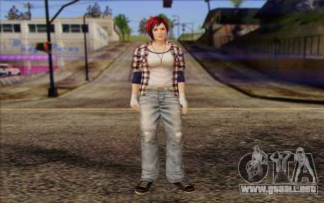 Mila 2Wave from Dead or Alive v10 para GTA San Andreas