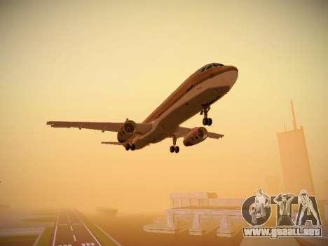 Airbus A321-232 Royal Jordanian Airlines para visión interna GTA San Andreas