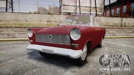 FSO Warszawa Ghia Kombi 1959 para GTA 4