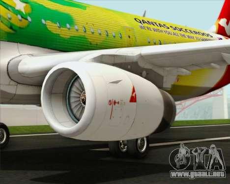 Airbus A321-200 Qantas (Socceroos Livery) para el motor de GTA San Andreas