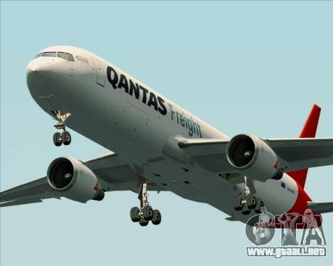 Boeing 767-300F Qantas Freight para GTA San Andreas left
