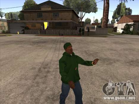 Cleo Walk Style para GTA San Andreas