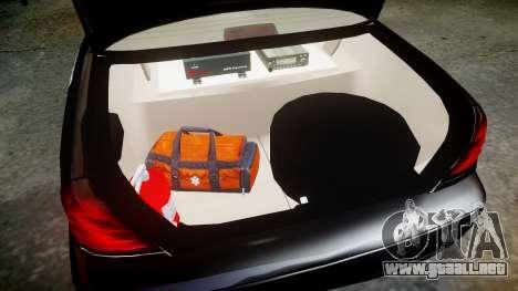 Ford Crown Victoria CHP CVPI Liberty [ELS] para GTA 4 vista interior