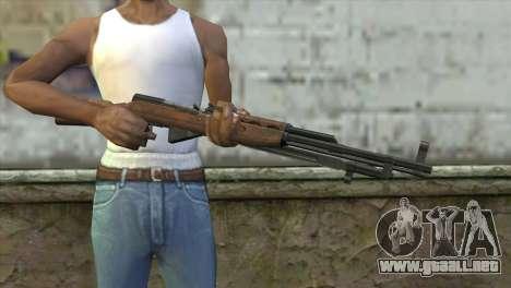 СКС de la Insurgencia para GTA San Andreas tercera pantalla