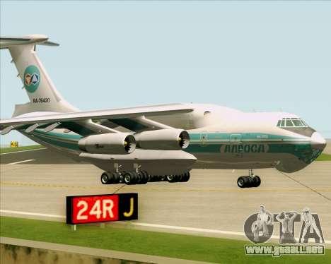 IL-76TD ALROSA para GTA San Andreas left