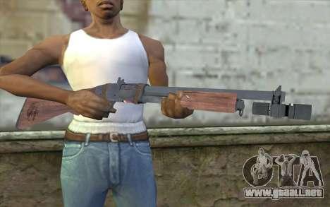 Shotgun from Primal Carnage v1 para GTA San Andreas tercera pantalla