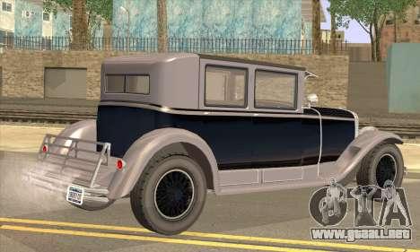 Albany Roosevelt para GTA San Andreas left