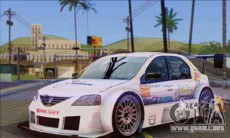 Dacia Logan Trophy Edition 2005 para la visión correcta GTA San Andreas