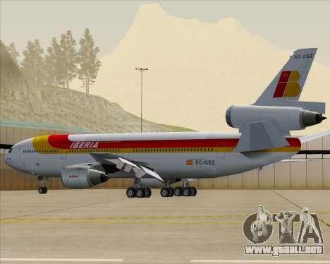 McDonnell Douglas DC-10-30 Iberia para el motor de GTA San Andreas