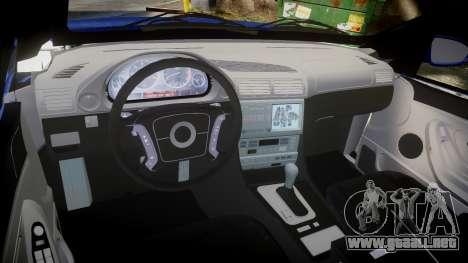 SsangYong Kyron para GTA 4 vista interior
