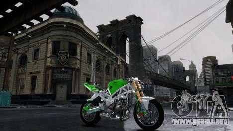 Kawasaki Ninja 636 Stunt para GTA 4 left