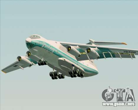 IL-76TD ALROSA para vista inferior GTA San Andreas