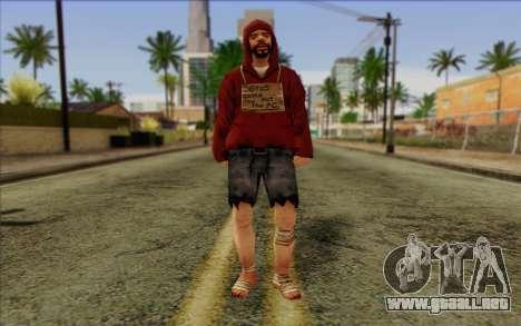 Miembro del pelotón de IA Piel 2 para GTA San Andreas