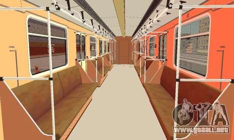 Metrophage tipo 81-717 para visión interna GTA San Andreas