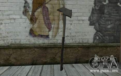 Fire axe (DayZ Standalone) v3 para GTA San Andreas segunda pantalla