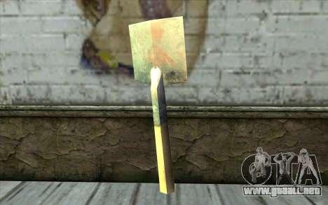 Alemán pala para GTA San Andreas segunda pantalla